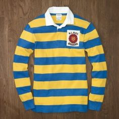 Shanny Lightweight Rugby, from Rugby Ralph Lauren. A bold alternative to your pique polo.