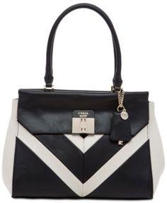 GUESS Rebel Roma Satchel Handbags   Accessories - Macy s 1c62d10d58
