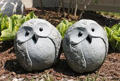 AM Dolce Vita, Cute owl garden decor