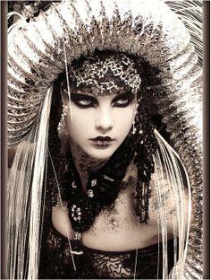 Amazing sci-fi beauty photography by Eric Ouaknine - Girlz of Z Future.