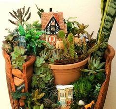 Detalhes de mini -jardim