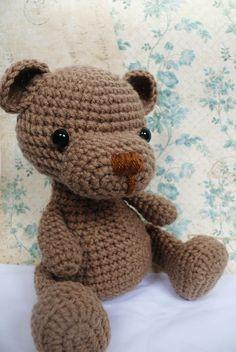 Teddy Bear crochet pattern PDF. $5.00, via Etsy.