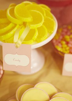 candy lemon wedges I love, love these, worth taking a chance.