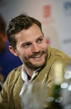 Jamie attending press conference at Karlovy Vary for KVIFF 2015 (July 9)