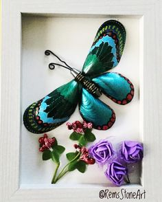 Shells Butterfly #butterfly_shell_crafts