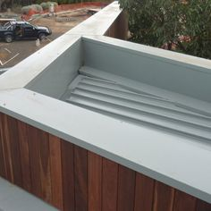 True Blue Roofing Geelong specializes in metal wall cladding which can quickly transform any wall. They are also experts in all aspects of roofing. Roof Cladding, Exterior Cladding, Wall Cladding, Metal Roof, Metal Walls, Box Gutter, Blue Roof, Window Detail, Park Homes