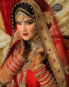 #SouthAsianBride #Makeup & #Jewelry இ South Asian Brides