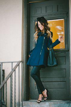 Style'd Avenue: Navy Blue