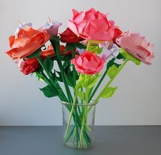 Bouquet of Roses by Lusine on Etsy