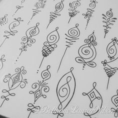 """Unalome designs available to tattoo :) for an appointment please email bethanielwilson@gmail.com"
