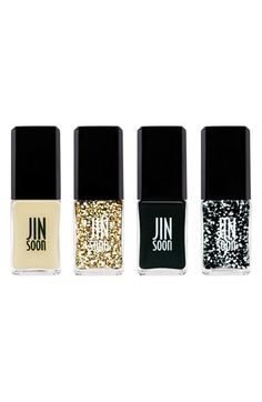 Nail Polish Gift Ideas for Holiday Jin Soon Holiday Tout Ensemble Collection Polish Holidays, Nordstrom, Glitter Gifts, Holiday Gift Guide, Holiday 2014, Holiday Nails, Party Looks, Nails Inspiration, How To Do Nails