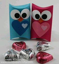 Cute owl valentines owls pinterest pillow box template owl pillow box owl from pronofoot35fo Images