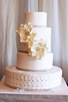 Wedding cake! #wedding #cake by nelia