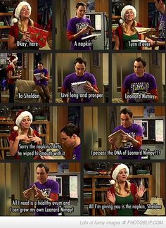 Sheldon Is Awesome..