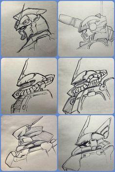 Light Spring, Mobile Suit, Gundam, Robot, It Works, Concept, Illustration, Artwork, Projects
