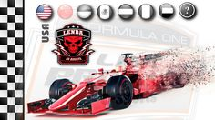 FORMULA 1 AO VIVO - GP DO EUA - LENDA PS4 - LIGA PRORACE E-SPORTS - NARR...