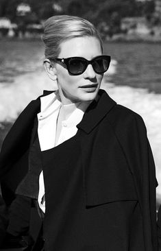 "3intheam: "" original photo by peter lindbergh. for IWC "" Cate Blanchett"