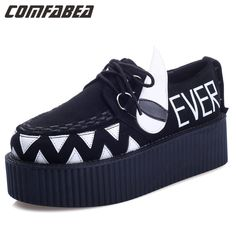 Item Type: FlatsDepartment Name: AdultShoe Width: Medium(B,M)Brand Name: AODOLLSSeason: Spring/AutumnPlatform Height: 3-5cmWith Platforms: YesClosure Type: Lace-UpToe Shape: Round ToeUpper Material: FlockDecorations: RivetsPattern Type: PrintLeather Style: Embossed LeatherGender: WomenOccasion: CasualFit: Fits true to size, take your normal sizeFlats Type: Flat PlatformLining Material: PUOutsole Material: Composite bottomToe Style: Closed ToeUpper Material: Cloth    USA  Heel to Toe(cm)…