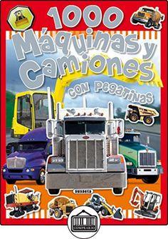1000 Máquinas y camiones (1000 Pegatinas) de VV.AA ✿ Libros infantiles y juveniles - (De 0 a 3 años) ✿