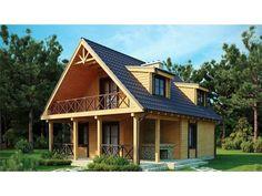 23 Ideas Home Design Exterior Simple Dreams Shed To Tiny House, Dream House Plans, Shed Homes, Log Homes, Style At Home, Casas Tudor, Log Cabin Sheds, Log Cabins, Attic Design