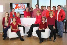 "Lifescript L.A. team celebrates ""Go Red for Women""!"