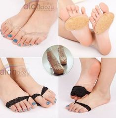 Hot Ms. Essential Soft Shoe Front Pad High Heel Invisible Antiskid Protect Foot