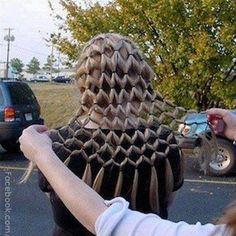 Crocheted hair
