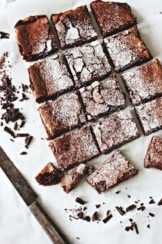 no-bake chocOlate brownies