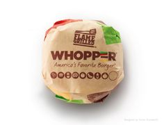 Burger King Packaging and Visual Identity. Designed by Turner Duckworth.