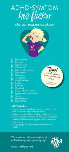 ADHD-symtom för flickor i låg- och mellanstadiet | MrsHyper Helping Children, Working With Children, Soft School, Teen Slang, Teaching Resources, Teaching Materials, Attention Disorder, Adhd And Autism, Classroom Inspiration