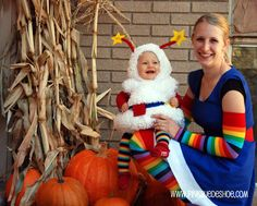 awesome halloween costume. Rainbow Brite!