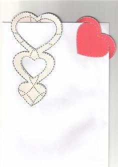 señaladores corazones