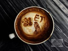 E.T.  #coffee #latteart #movie