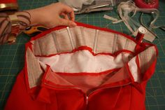 Gertie's New Blog for Better Sewing: Tutorial: Adding Boning to a High Waistband--clear and helpful