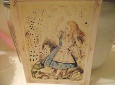 Alice In Wonderland  Note Cards by mslizz on Etsy, $5.00