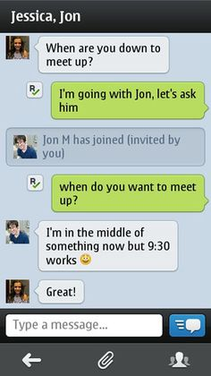 Kik Messenger Now Available for Symbian in the Nokia Store | Pocketnow