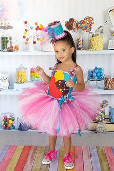 Candy Crush Tutu Dress....costume tutu set by TheBerryNiceBoutique, $79.99