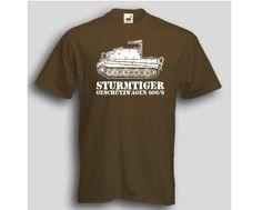 T-Shirt Sturmtiger 606 / mehr Infos auf: www.Guntia-Militaria-Shop.de