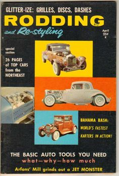 Rodding and Re-styling Sept Vol 11 No 3 1964 Cars Hot Rods Chevy Garlit