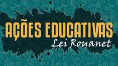 Ações Educativas - Lei Rouanet Business, Movies, Movie Posters, Lei, Culture, Films, Film Poster, Cinema, Store
