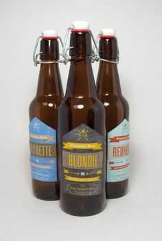 Backhouse Brewing Packaging - Student Work from Melissa Moscoso | Design.org