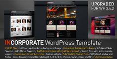 Incorporate WordPress Template - ThemeForest Item for Sale