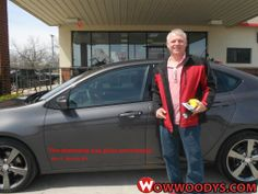 "Alan Sheperd from Nevada, Missouri purchased this 2014 Dodge Dart and wrote, ""Scott did a great job - friendly and great knowledge of that Dodge Dart. I was looking at the SXT but after seeing the GT that was the one! The dealership was great and friendly and gave me the price I wanted. Thanks."" To view similar vehicles and more, go to www.wowwoodys.com today!"