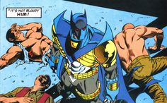 Most people knew instinctively that this was not the original Batman.