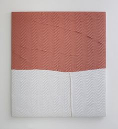 "Sam Moyer, ""Night Moves,"" 2009, moving blanket, wood, 66 x 60 inches, 167.6 x 152.4 cm"