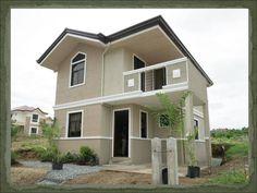 Modern Apartments, Bungalow House Design, Dream Home Design, Small House Plans, Cebu, Little Houses, Minimalist Home, Future House, Interior Decorating