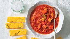 Červená čočka se zeleninou v rajské omáčce Foto: