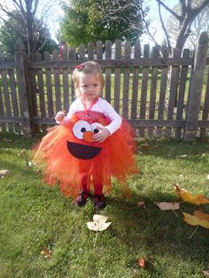 Diy no sew elmo halloween costume halloween pinterest headband a busy moms blog elmo and cookie monster tutu dress tutorial more solutioingenieria Choice Image