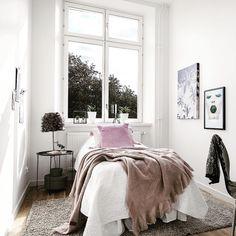 Ljust härligt sovrum!