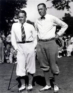 Bobby Jones and Francis Ouimet